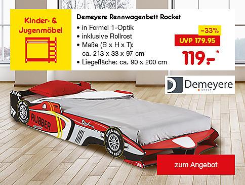 Demeyere Rennwagenbett Rocket, für nur 119.- €*