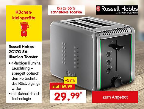 Russell Hobbs 20170-56 Illumina Toaster, für nur 29.99 €*