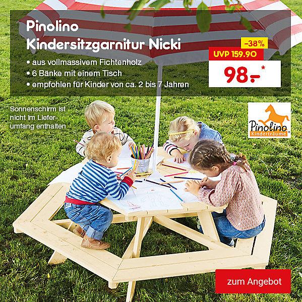 Pinolino Kindersitzgarnitur Nicki, für nur 98.– €*