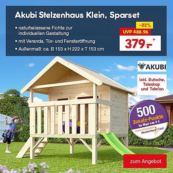 Akubi Stelzenhaus Klein, Sparset, für nur 379.– €*