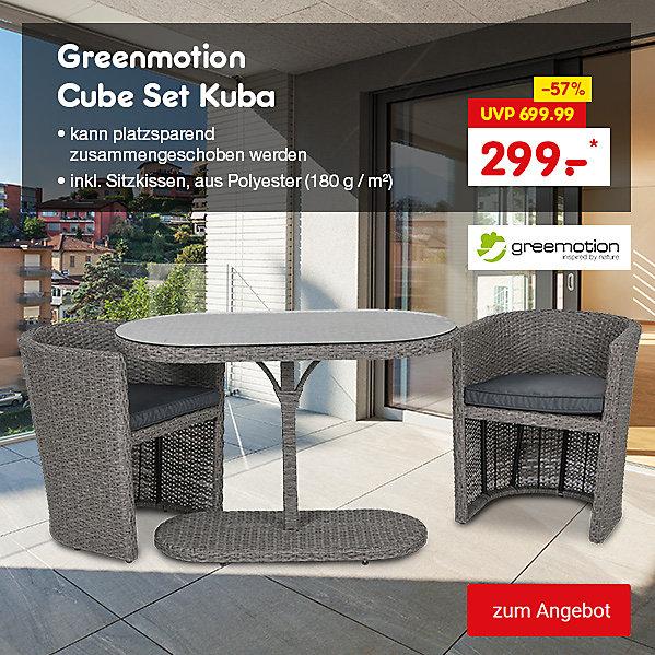 Greemotion Cube Set Kuba, für nur 299.- €*