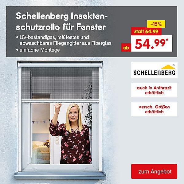 Schellenberg Insektenschutzrollo für Fenster, versch. Größen, ab 54.99 €*