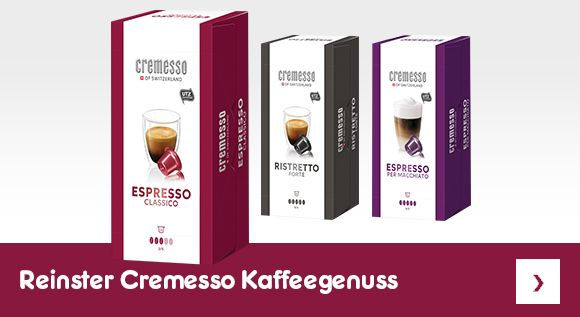 Reinster Cremesso Kaffeegenuss