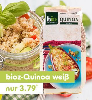 bioz Quinoa weiß