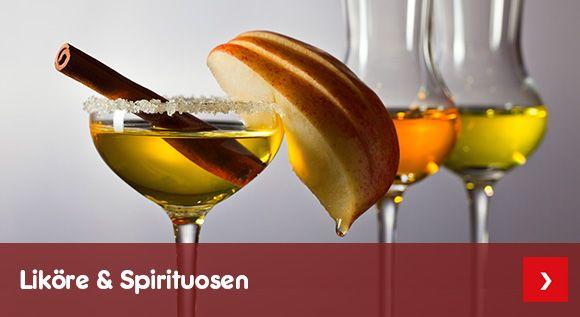 Unser Likör- & Spirituosen-Sortiment