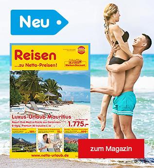 Netto Urlaub - unser neues Reisemagazin Juni ist da