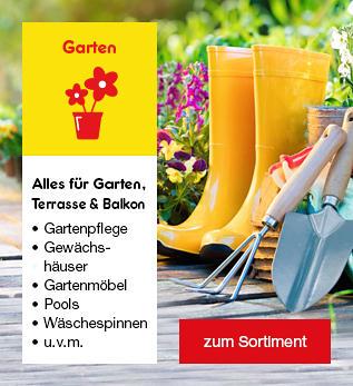 Alles für Garten, Terrasse und Balkon