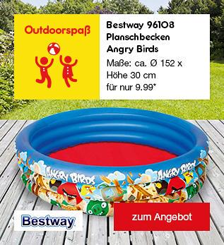Bestway 96108 Planschbecken Angry Birds, für nur 9.99 €*