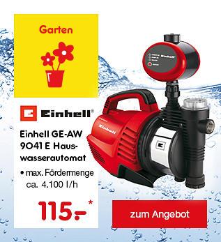 Einhell GE-AW 9041 E Hauswasserautomat, für 115.- €*