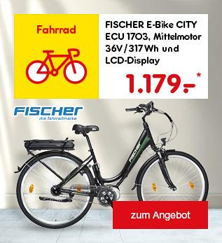 FISCHER E-Bike CITY ECU 1703, für 1.179.- €*