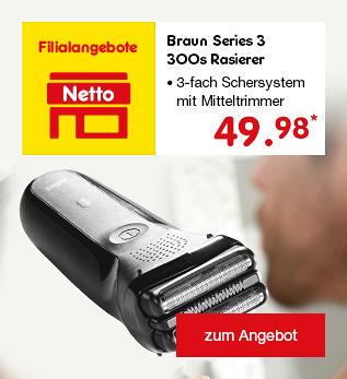 Braun Series 3 300s Rasierer nur 49.98 €*