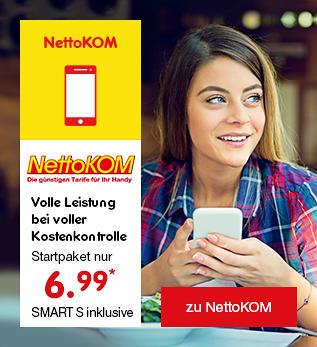 NettoKOM - Ihre smarte Verbindung ins Netz!