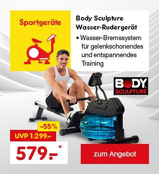 Body Sculpture Wasser-Rudergerät, nur 579.- €*