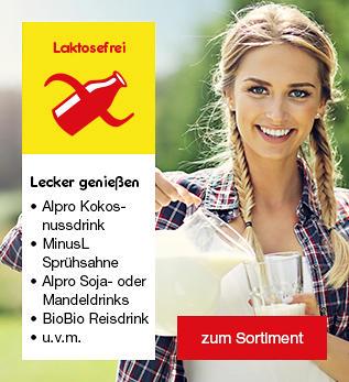 Laktosefreie Lebensmittel - dauerhaft im Netto Online-Shop erhältlich