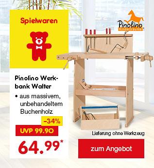 Pinolino Werkbank Walter, für nur 64.99 €*