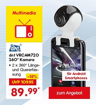 dnt VRCAM720 360 Grad Kamera, für nur 89.99 €*