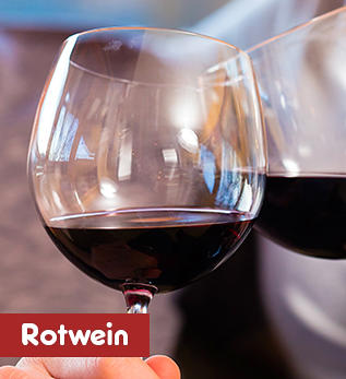 Unser Rotwein-Sortiment