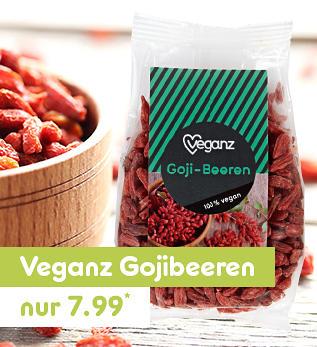 Veganz Gojibeeren nur 7.99*