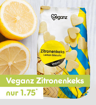 Veganz Zitronenkeks nur 1.75*