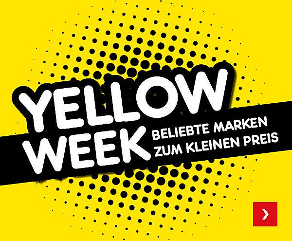 Yellow Week - Beliebte Marken zum kleinen Preis
