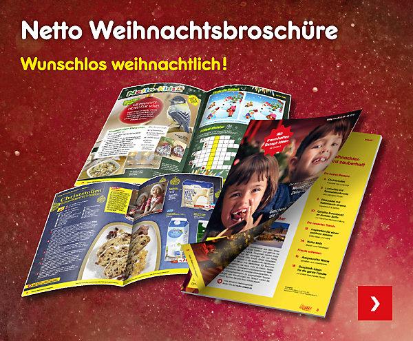 Netto Weihnachtsbroschüre - wunschlos weihnachtlich!