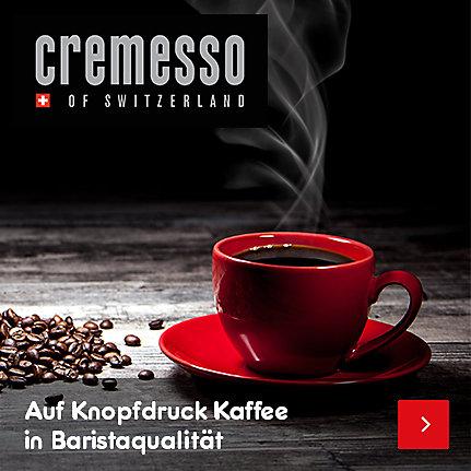 Cremesso - auf Knopfdruck Kaffee in Baristaqualiät
