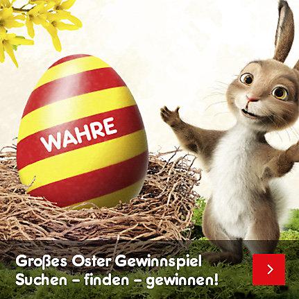 Großes Oster Gewinnspiel: Suchen - finden - gewinnen!