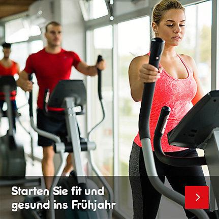 Sportgeräte - Starten Sie fit und gesund ins Frühjahr