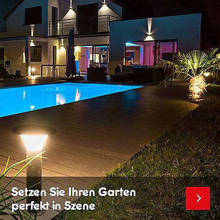 Gartendeko & Beleuchtung - setzen Sie Ihren Garten perfekt in Szene