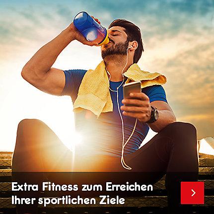 Sportnahrung & Ergänzung - extra Fitness zum Erreichen Ihrer sportlichen Ziele