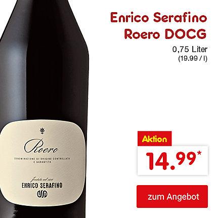 Enrico Serafino Roero DOCG, 0,75 Liter (19.99 / l), für nur 14.99 €*