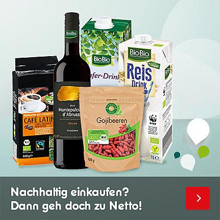 Nachhaltig einkaufen? Dann geh doch zu Netto!