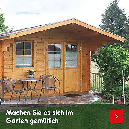 Garten- & Gerätehäuser - machen Sie es sich im Garten gemütlich
