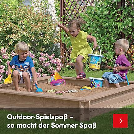 Gartenspielgeräte & Spielzeug – so macht der Sommer Spaß