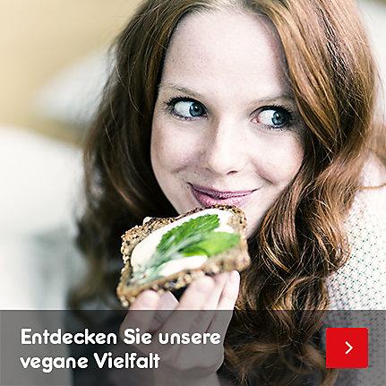 Entdecken Sie unsere vegane Vielfalt