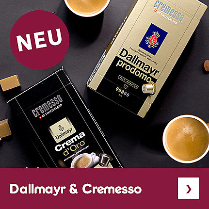 Cremesso & Dallmayr: einfach perfekt