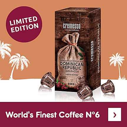 Limited Edition - Cremesso World Finest Coffee N°6