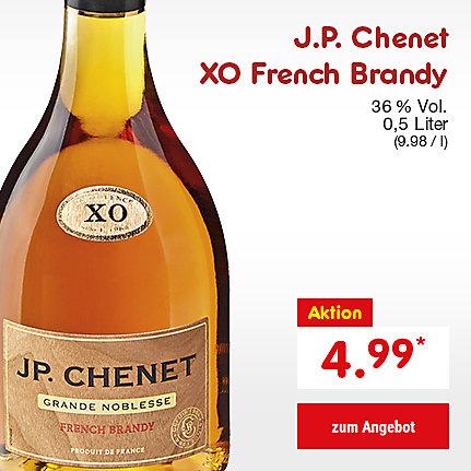 J.P. Chenet XO French Brandy, 0,5 Liter (9.98 / l), für nur 4.99 €*
