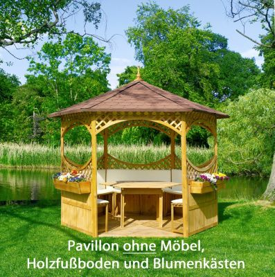 holzpavillon online auf rechnung kaufen bei. Black Bedroom Furniture Sets. Home Design Ideas
