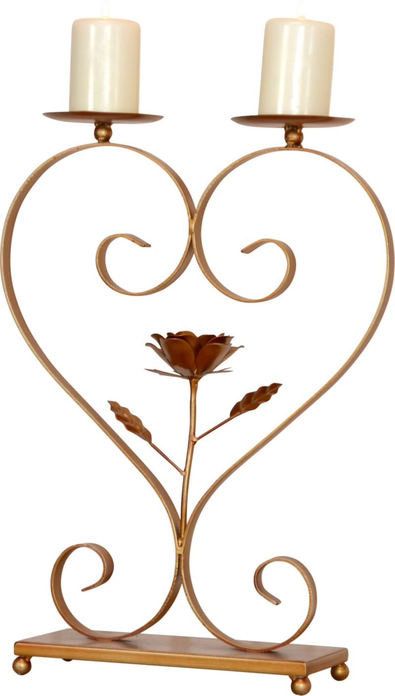 möbel direkt online Kerzenhalter Rose