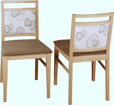 moebel direkt online Stuhl ´´Domi´´ Massivholz 2er Set