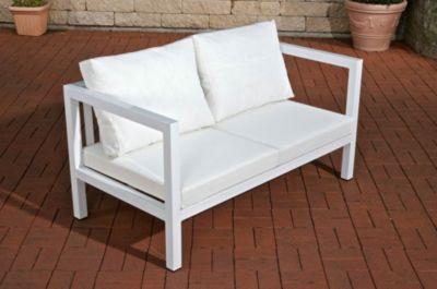 outdoor lounge 2 sitzer sofa vitus aus aluminium das. Black Bedroom Furniture Sets. Home Design Ideas