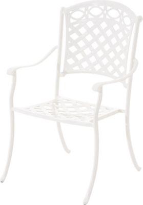 CLP Gartenstuhl ISHVARA im Jugendstil / Antiker Stuhl aus Aluminium / In verschiedenen Farben erhält