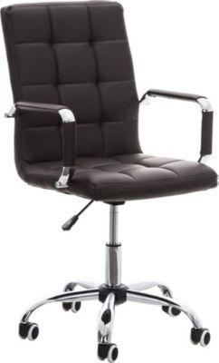 bequemer Bürostuhl DELI V2, mit sehr hochwertiger Polsterung, Sitzhöhe 45 - 54 cm (aus bis zu 8 Pols