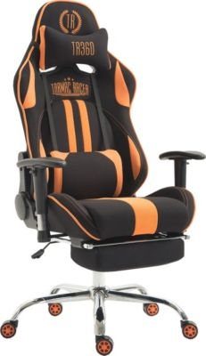 CLP Bürostuhl XL LIMIT mit Stoffbezug I Gamingstuhl mit Metallgestell I Höhenverstellbarer Schreibti