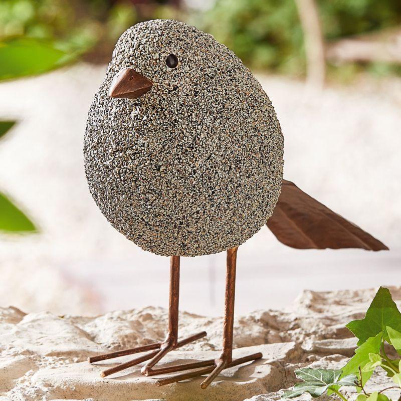 Deko-Figur Vogel Karlchen