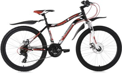 KS Cycling Kinderfahrrad MTB Hardtail 24&acute&acute Phalanx