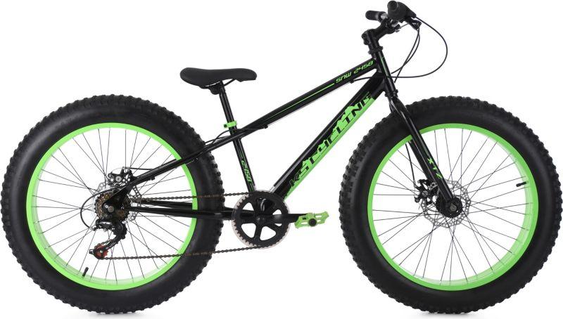 KS Cycling Mountainbike MTB 24 Zoll Fatbike SNW...