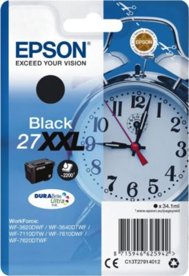 Epson Tinte schwarz 27XXL (C13T27914012)
