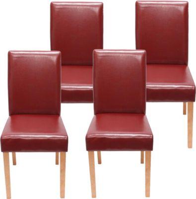 heute-wohnen 4x Esszimmerstuhl Stuhl Lehnstuhl Littau